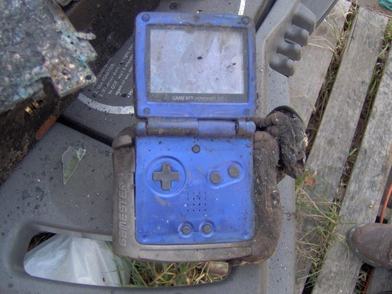 What Do Nintendo Consoles Look Like After A House Fire?
