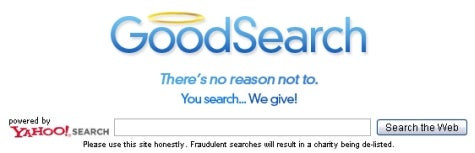 Support charities while you search the web