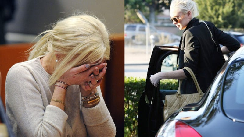 Lindsay Lohan's $80,000 Porsche Hits Person And Drives Away