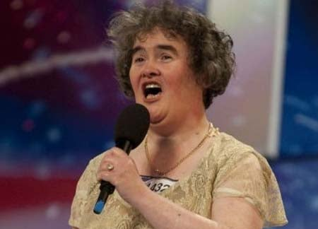Susan Boyle to Become a Cafeteria Lady
