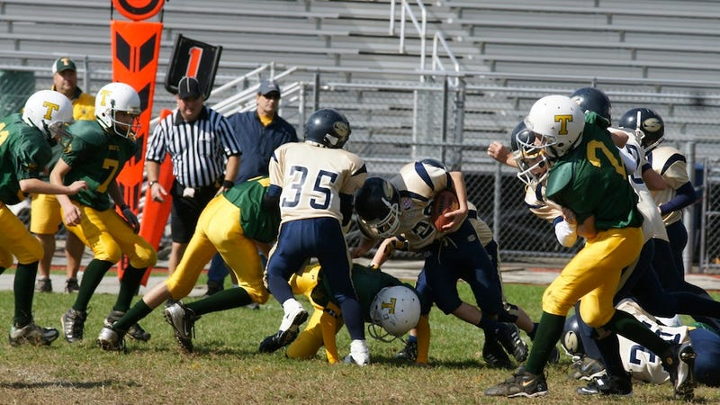 Five Pee-Wee Football Players Suffered Concussions In A 52-0 Loss