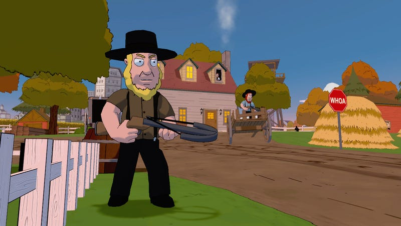 The Amish Are Gonna Be Furious When They Play the New Family Guy Game