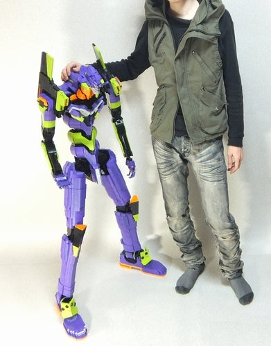 This 4-Foot Tall LEGO Evangelion Could Probably Kick Your Ass