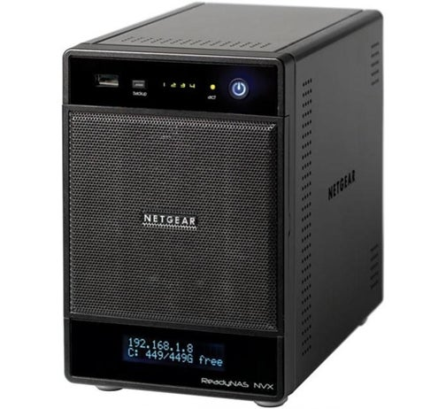 Netgear's 4-Bay ReadyNAS NVX Plays Nicely with Time Machine