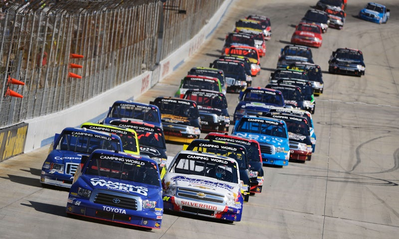 Kyle Busch Is On Fire At Bristol, But Should He Be?