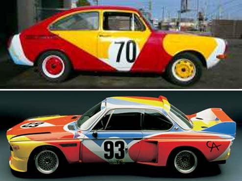 How About A Volkswagen Fastback With Alexander Calder 1975 BMW 3.0 CSL Paint?