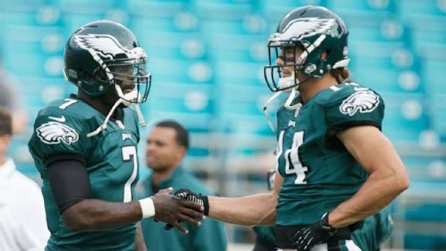 Mike Vick Is Super Passive-Aggressive About Riley Cooper Not Texting Him