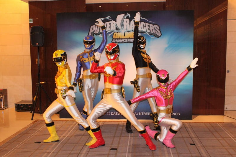 So, The Power Rangers Have an Online Game...