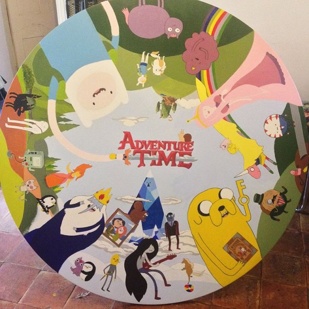 This Adventure Time Table Is Approximately An Episode's Worth Of Fun