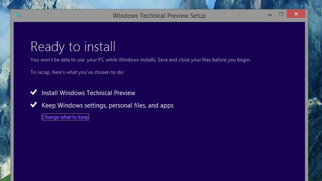 How to Install the Windows 10 Technical Preview Right Now