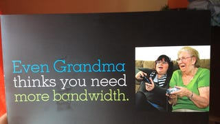 Grandma Loses in Video Games, Blames Bandwidth