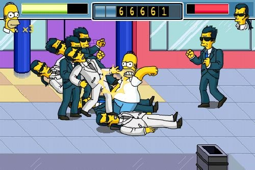 Simpson Arcade iPhone Preview: Steeped in Authenticity