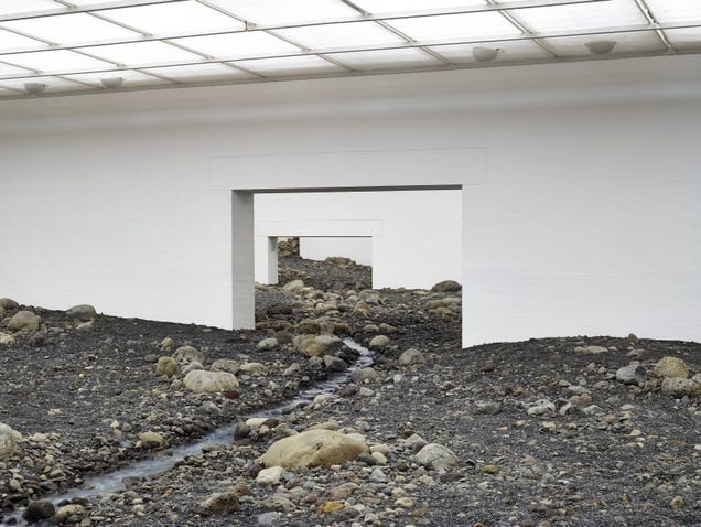 See an Entire Muddy River Bed Transplanted Inside an Art Museum