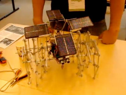 Solar Powered Spider Will Populate My Nightmares for Months