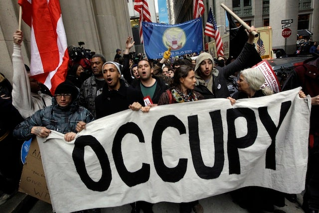 Occupy Wall Street Besieges Wall Street