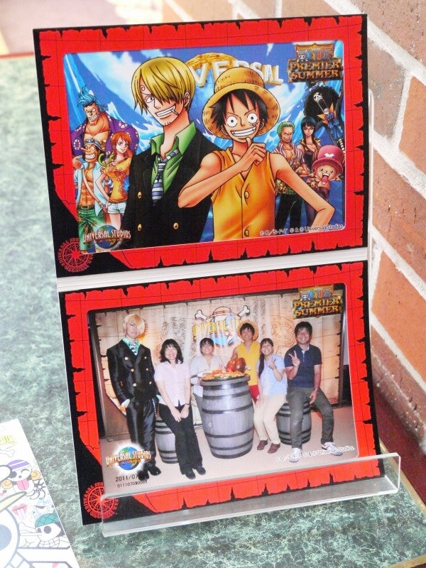 One Piece in Restaurant Form