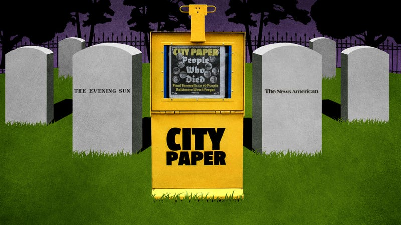 Baltimore Is One Step Closer to Being a Zero-Newspaper Town