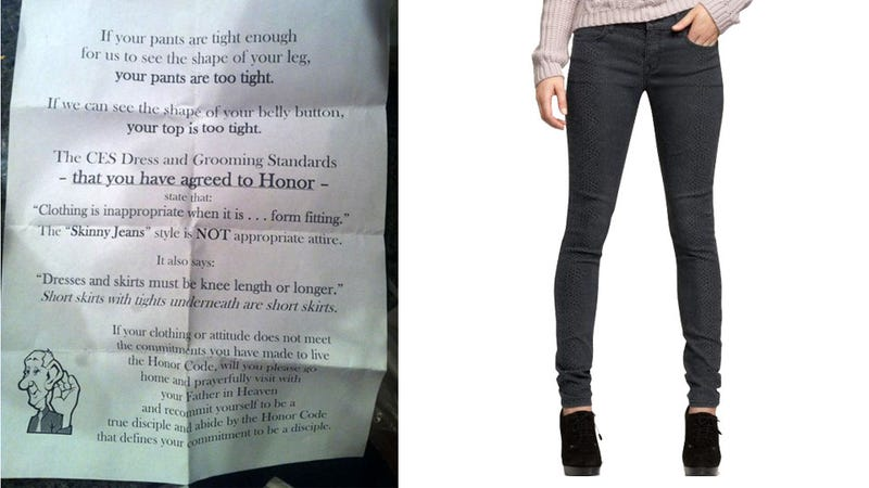 Mormon College's Skinny Jeans Ban Debated, Overturned