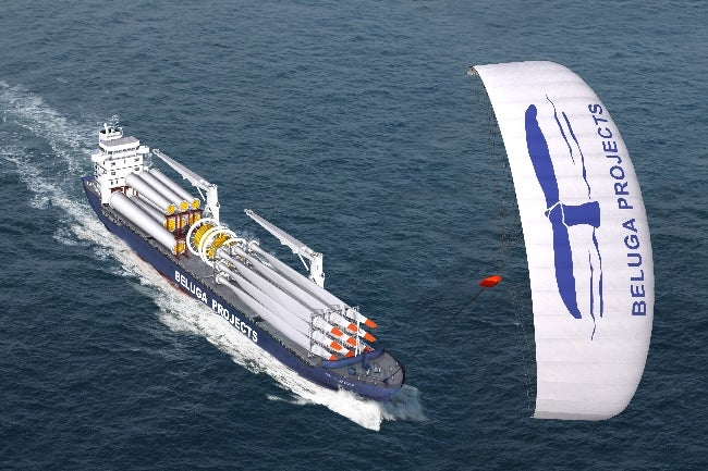 Gigantic Cargo Sailboats to Replace Oil-Guzzling Cargo Fleets