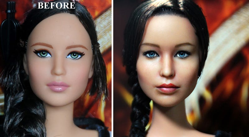 This Custom Jennifer Lawrence Doll Needs to Be Seen to Be Believed!