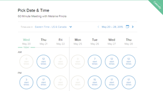 Calendly Schedules Meetings with Others Based on Your Availability