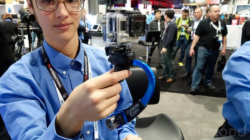 Steadicam's Curve Makes Your GoPro Vids as Smooth as Silk