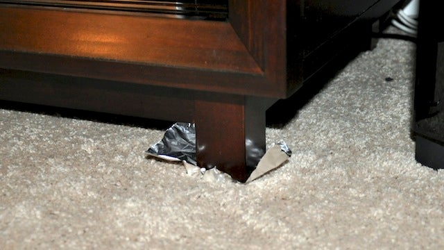 Move Heavy Furniture More Easily With Aluminum Foil