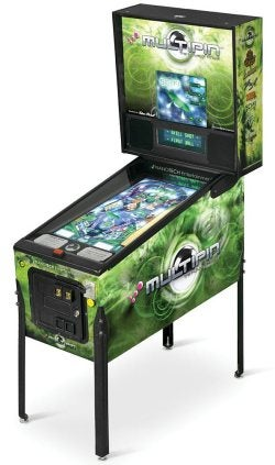 "High-Def Digital Pinball Machine Doesn't Really ""Get"" Pinball"