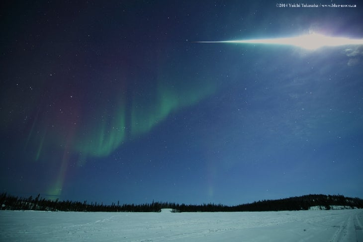 Meteor Explodes in Spectacular Fireball over Northern Canada