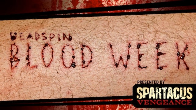 Deadspin's Blood Week Begins Monday, And We Want Your Stories