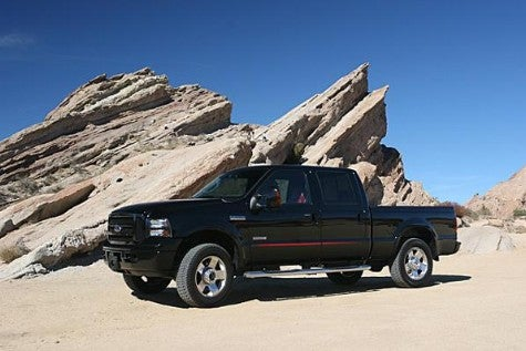 Jalopnik Reviews: 2007 Ford F250 Outlaw — He Drove He Drove Edition — Part 2