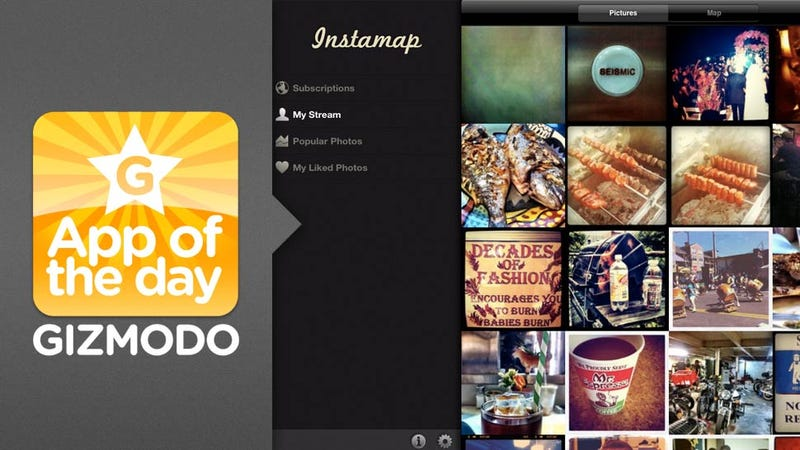 Instamap for iPad: A Slick Instagram App for your iPad