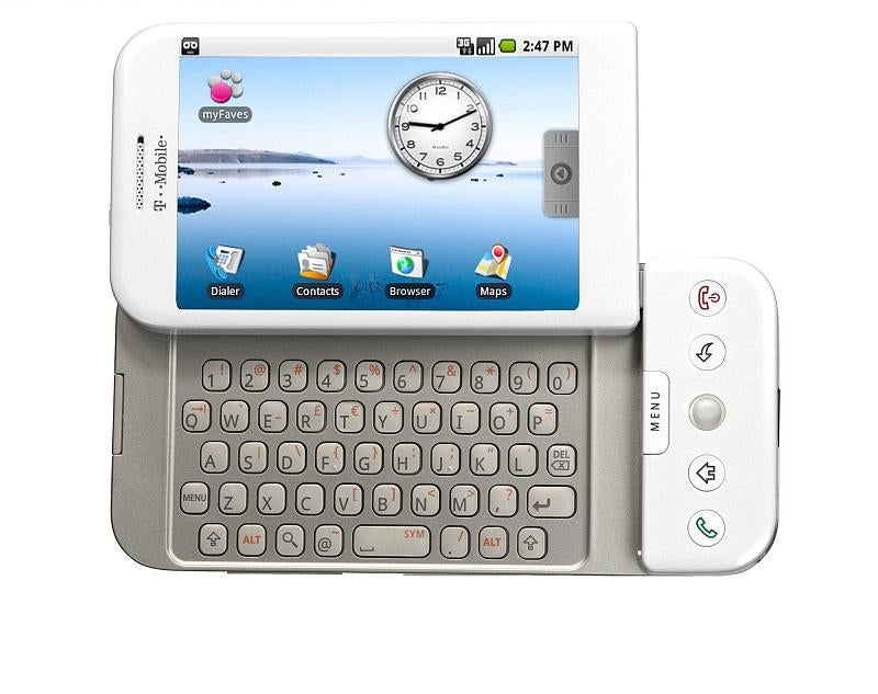 T-Mobile G1: Full Details of the HTC Dream Android Phone