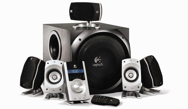 Most Popular 5 1 Surround Speaker Set Logitech Z 5500