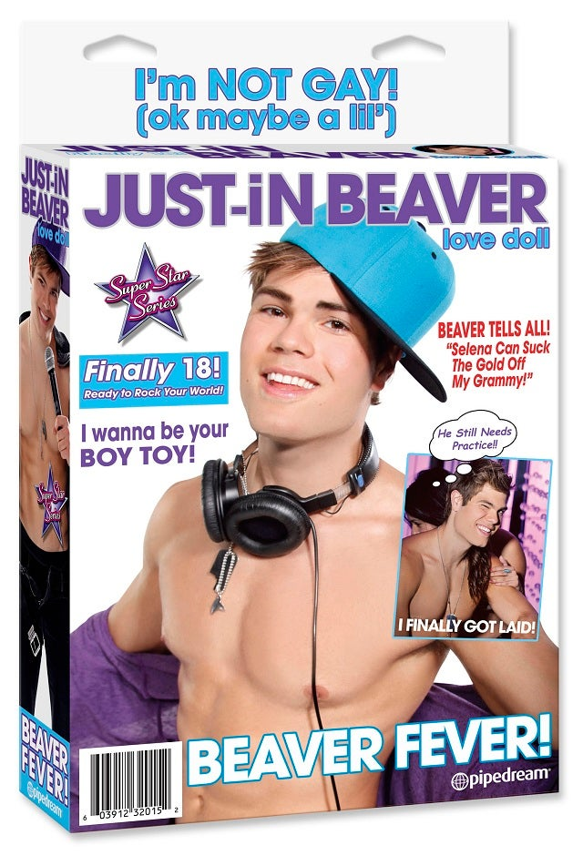 Shocker: The Justin Bieber Sex Doll is 'Unofficial'
