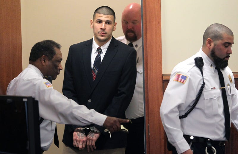 Warrant: Aaron Hernandez Circled Victims Before 2012 Drive-By Murders