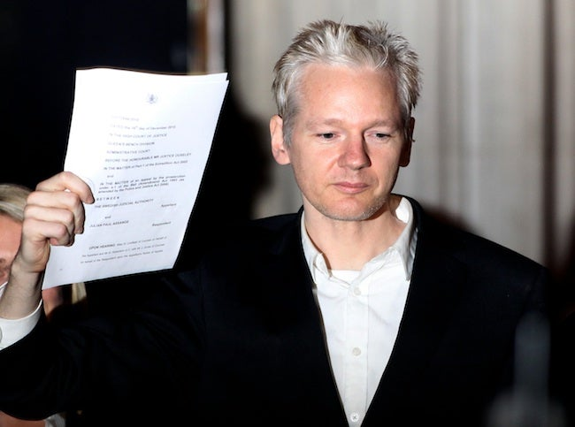 Julian Assange Threatened to Sue Newspaper for Publishing 'His' Leak