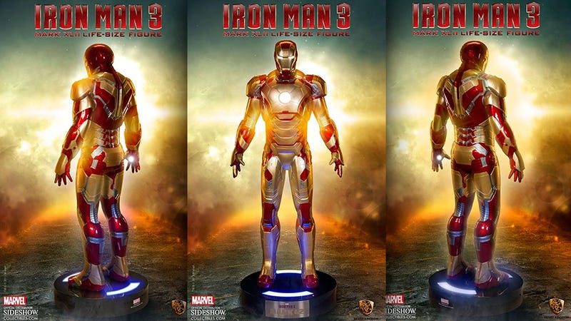 Can You Really Call This Life-Size Iron Man MARK 42 Suit a Figure?