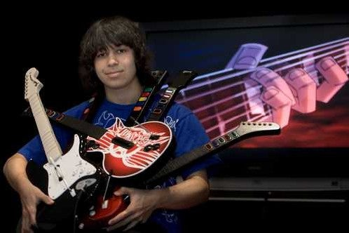 Parents Let Kid Drop Out of High School to Focus on Guitar Hero