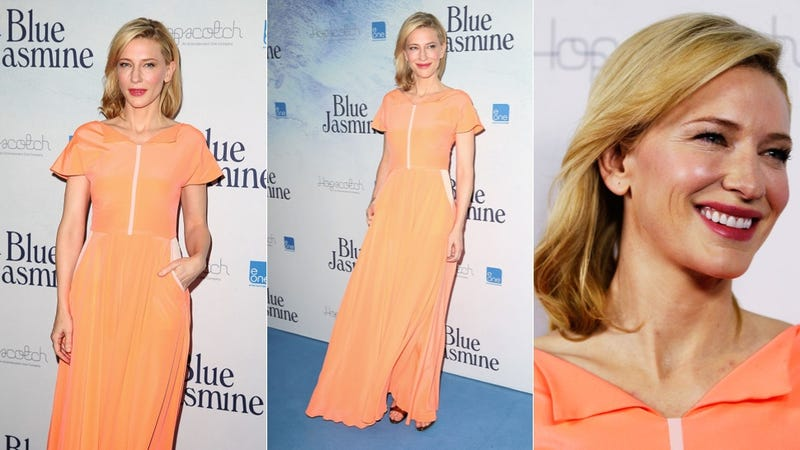 Cate Blanchett Is a Creamsicle Dreamsicle