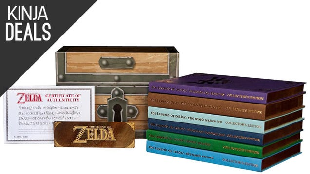 Save a Few Rupees on the Zelda Prima Game Guide Box Set