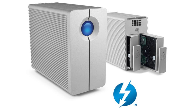LaCie's 2big Thunderbolt RAIDs Quench Your Need For Transfer Speed