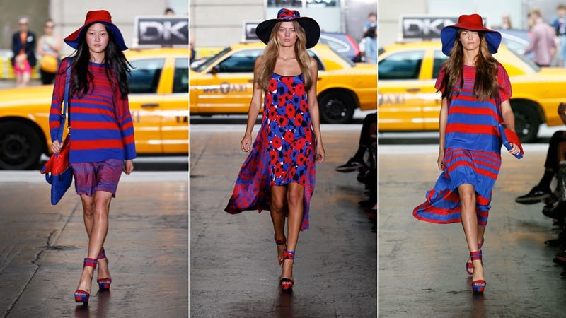 DKNY Does Red, White And Blue For Spring