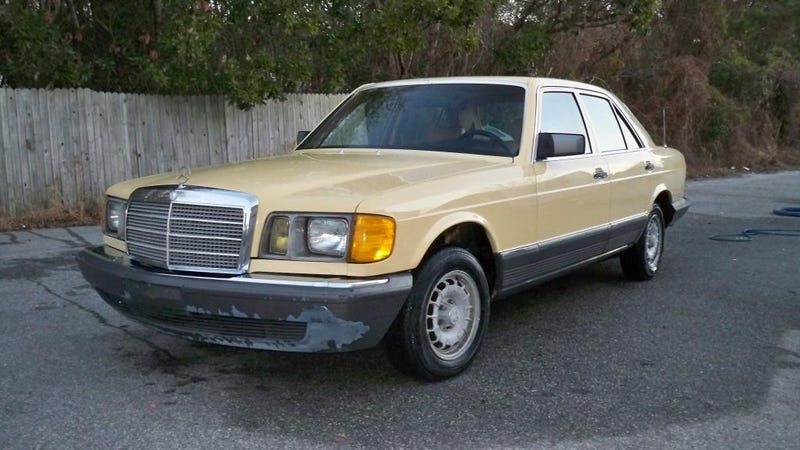 For $3,950, this big Benz is a fuel slut