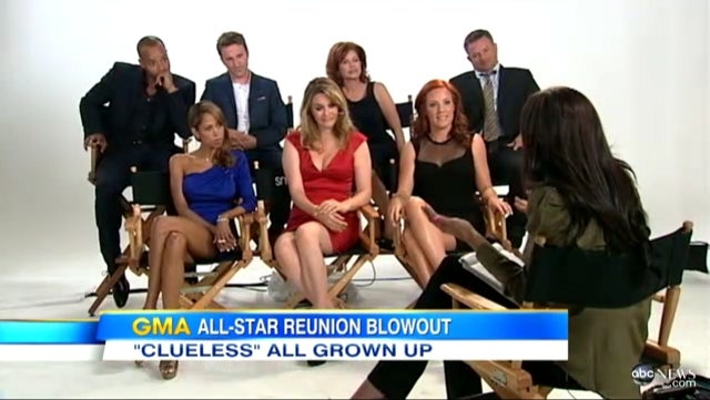 Clueless Cast Reunites 17 Years Later to Talk About Whatever