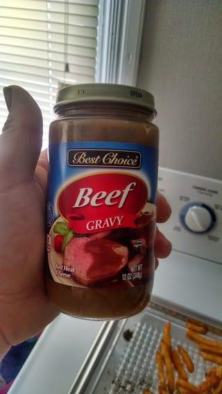 how to make real poutine gravy
