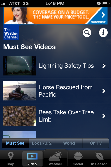 Weather Channel Gallery