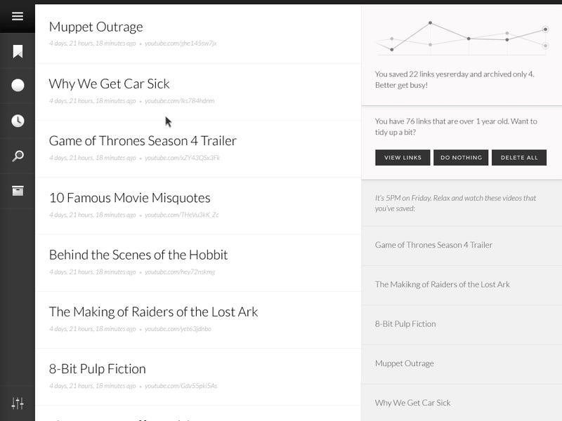 Unmark Turns Your Overflowing Bookmarks into a To-Do List