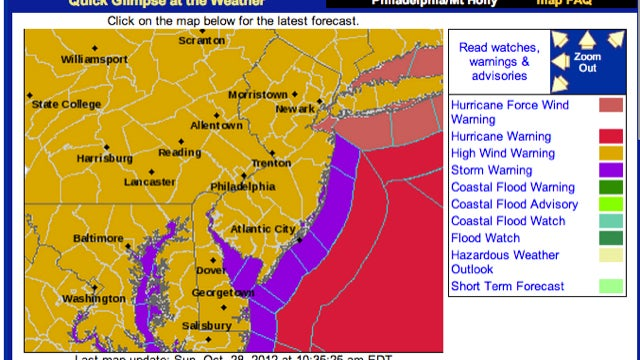 Meteorologists Angry With National Hurricane Center Over Sandy Warnings