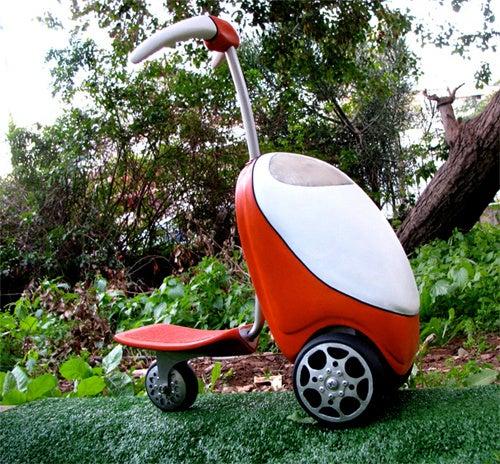 Lawnmower Scooter: Vroom Vroom Splutter Splutter